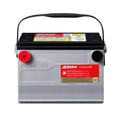 ac delco battery review