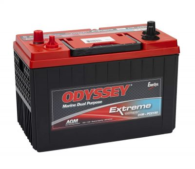 odyssey extreme battery review