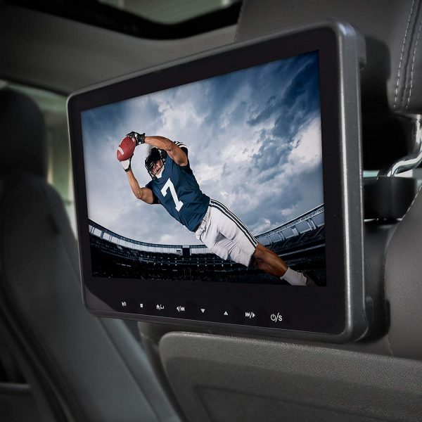 best portable dvd player for car headrest